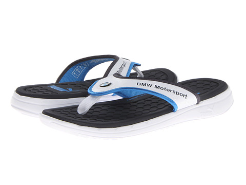 7a6072a85040 UPC 887121414004 product image for PUMA BMW Slip In Thong Sandal (White BMW  Team ...