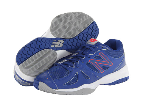 New Balance - WC696 (Blue/Pink) Women's Shoes