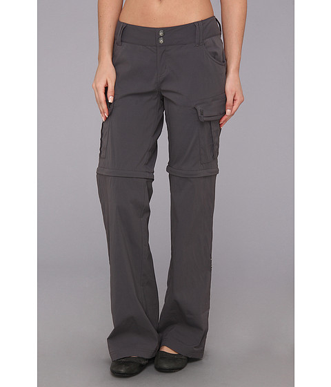 Prana - Sage Convertible Pant (Coal) Women's Casual Pants