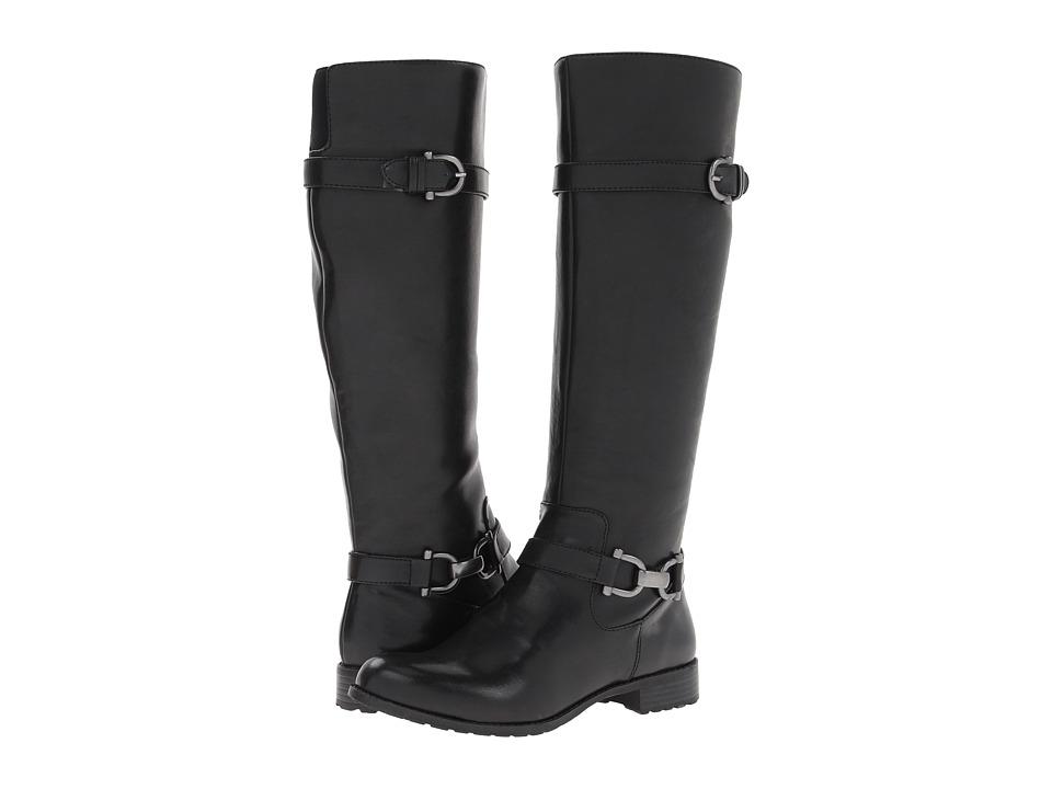 Mootsies Tootsies - Rose Bloom (Black) Women's Zip Boots