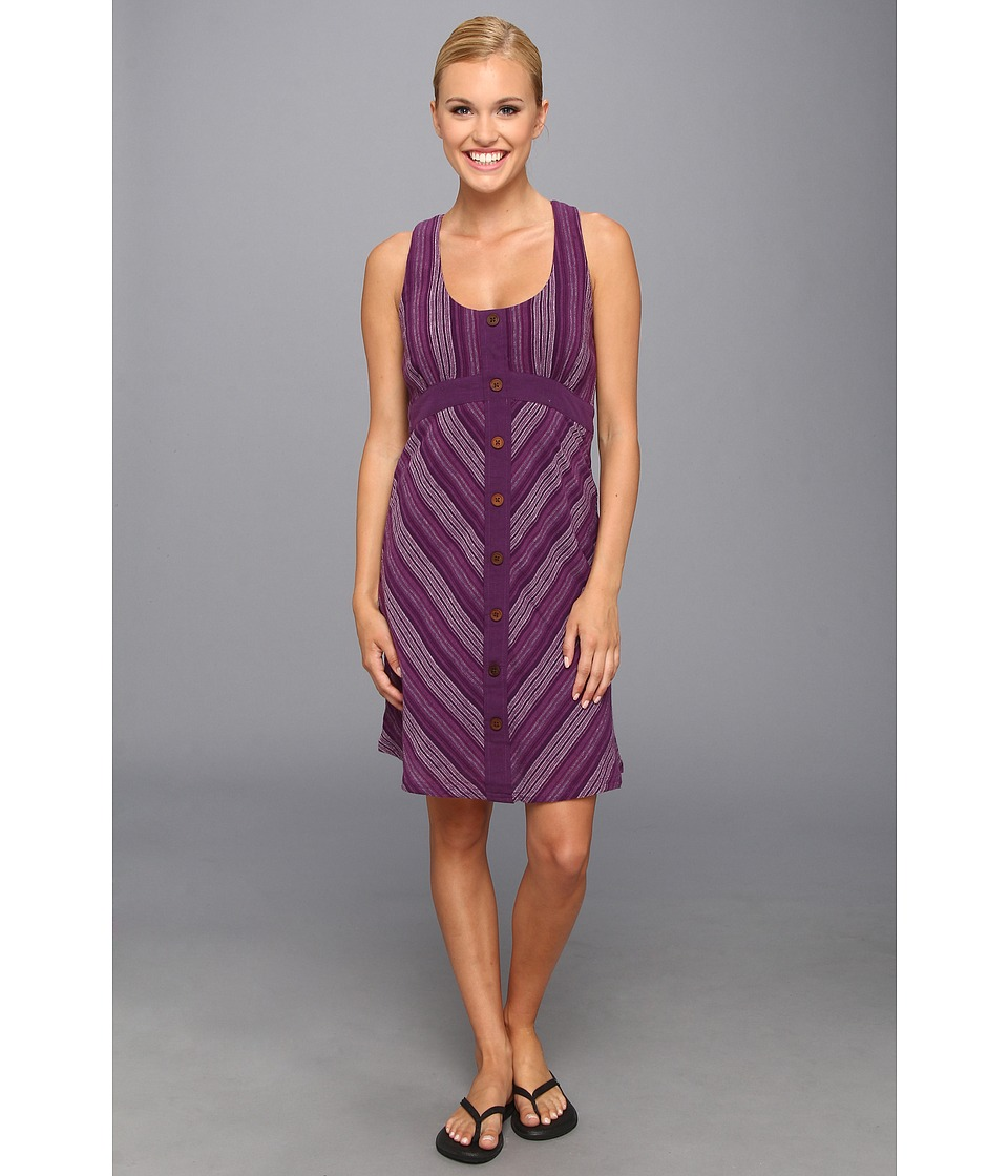Prana - Brook Dress (Dark Grape) Women's Dress