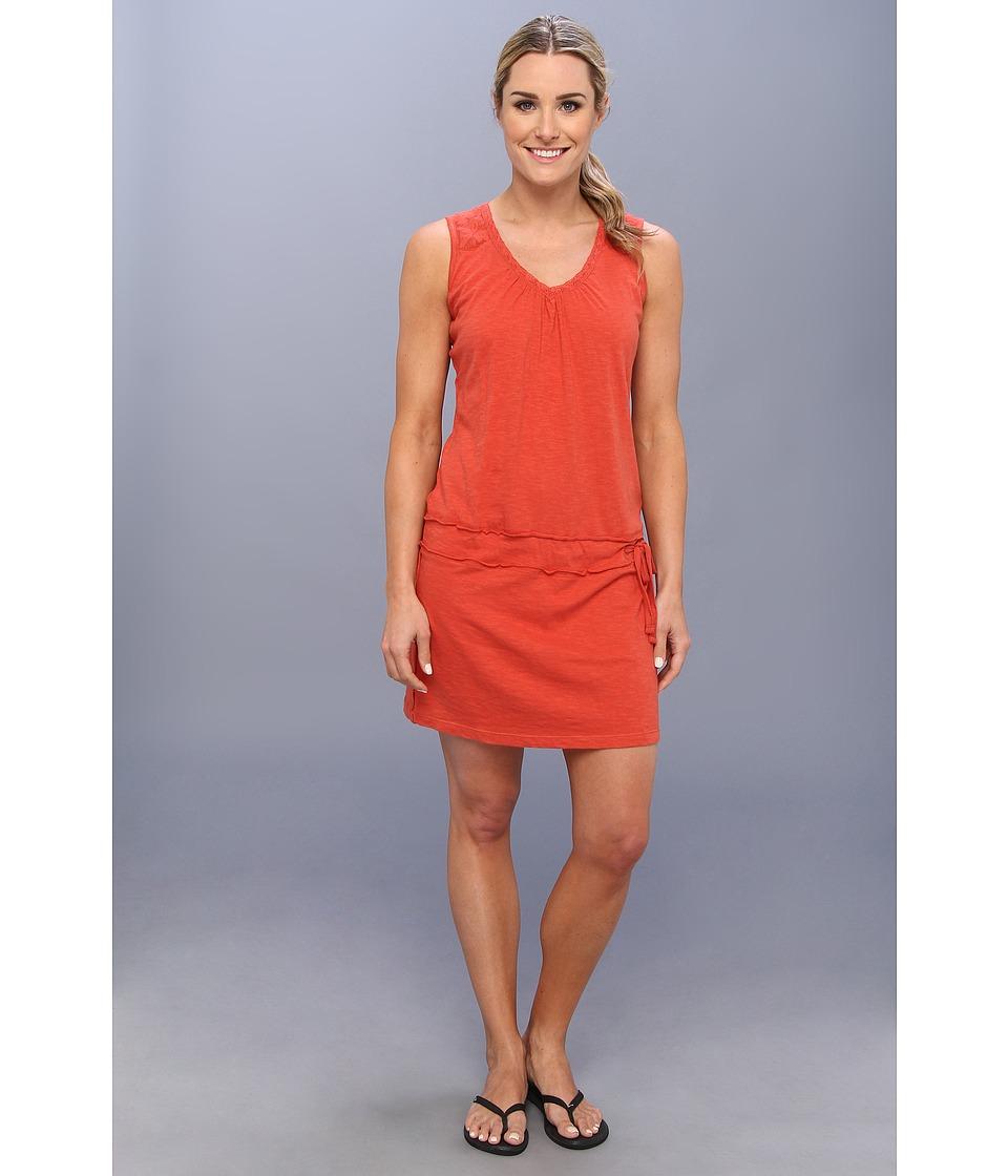 Prana - Bree Dress (Indian Red) Women's Dress