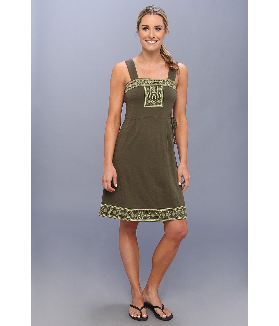 Prana - Indie Dress (Cargo Green) Women's Dress
