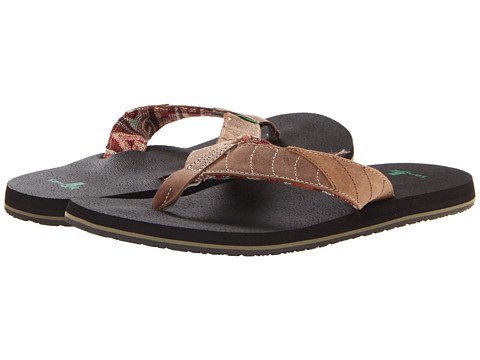 Sanuk - Pave the Wave (Tan/Natural) Men