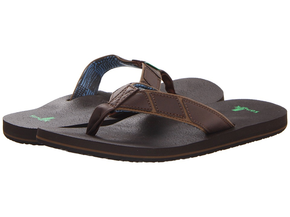 Sanuk - Tribune (Brown) Men's Sandals