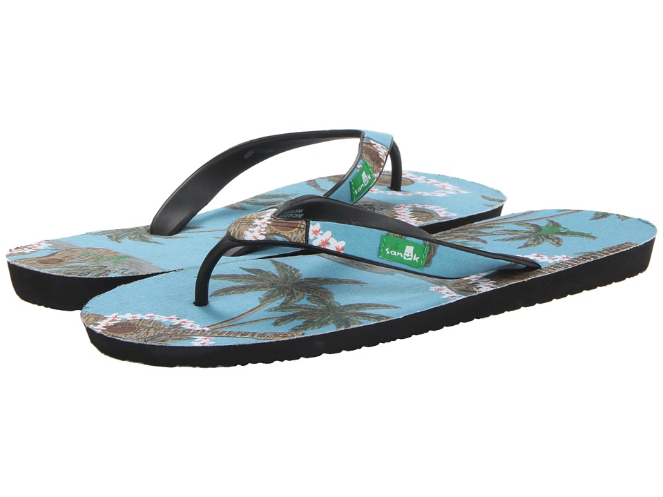 Sanuk - Kona (Blue) Men's Sandals