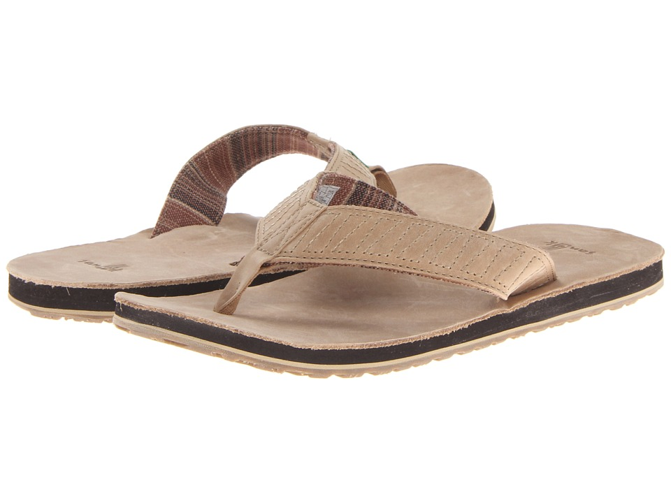 Sanuk - Burro Down (Tan) Men