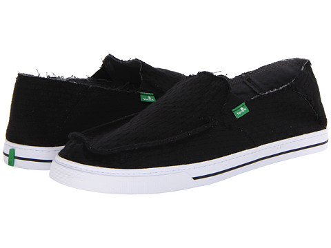 Sanuk - Weaver (Black) Men's Shoes