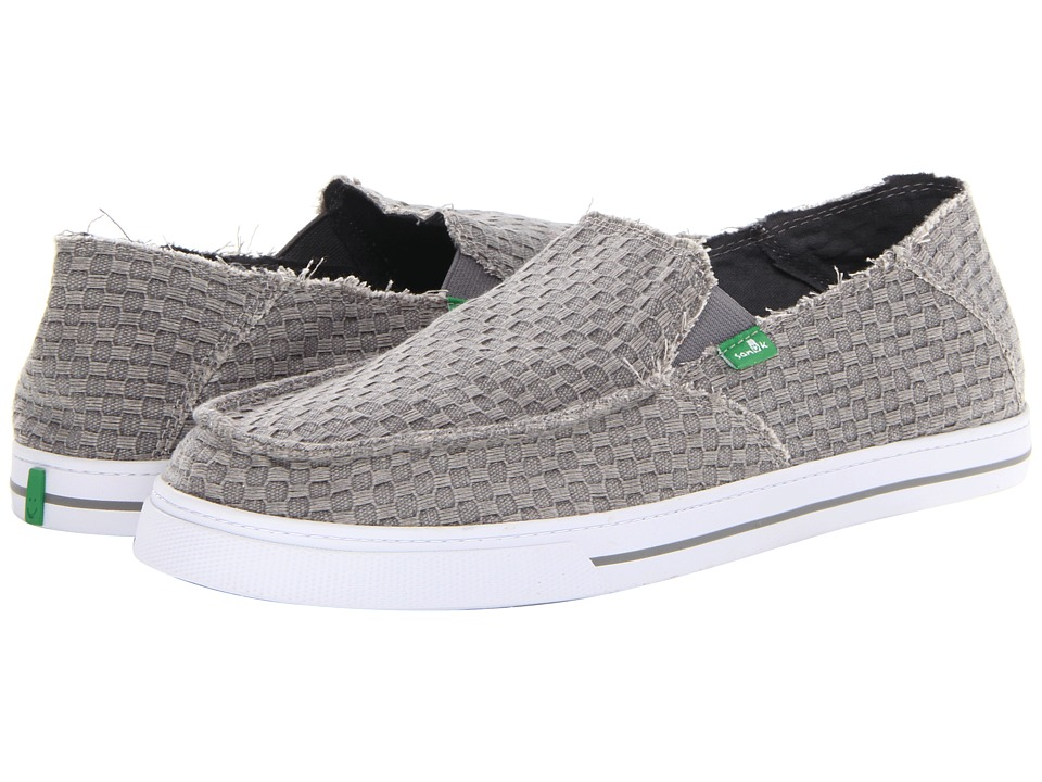 Sanuk - Weaver (Charcoal) Men's Shoes