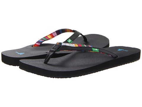 Sanuk - Maritime (Black) Women's Sandals