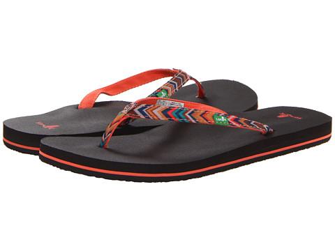 Sanuk - Maritime Funk (Coral Multi) Women's Sandals