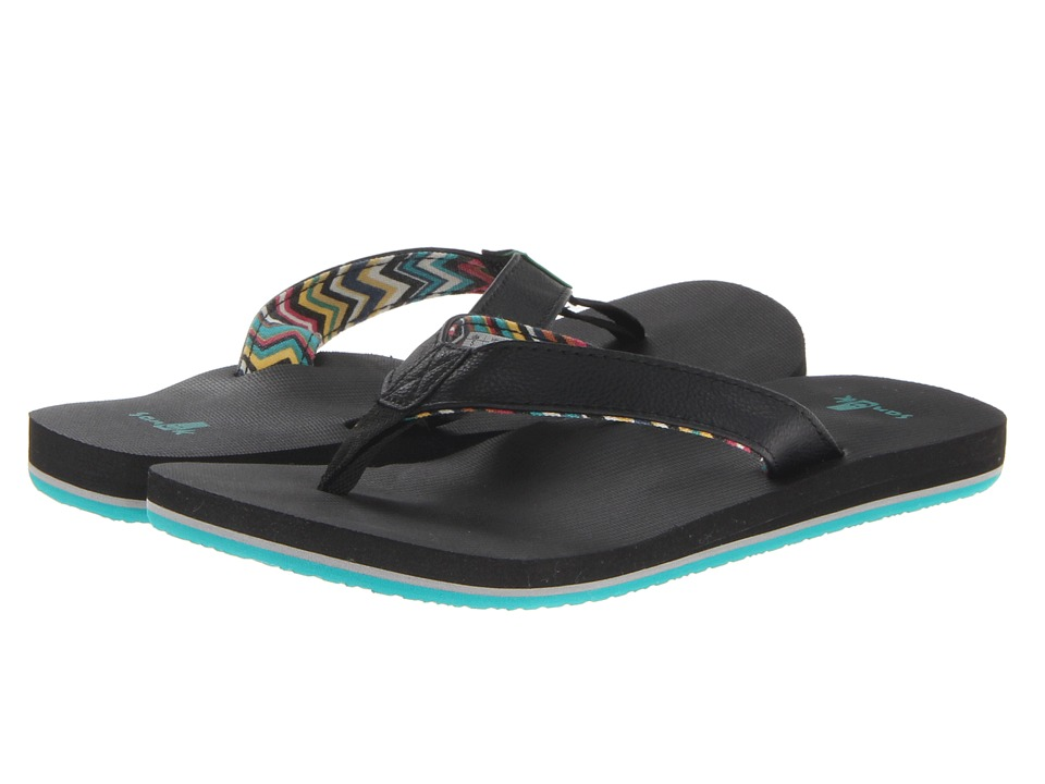 Sanuk - Springwater (Black) Women's Sandals