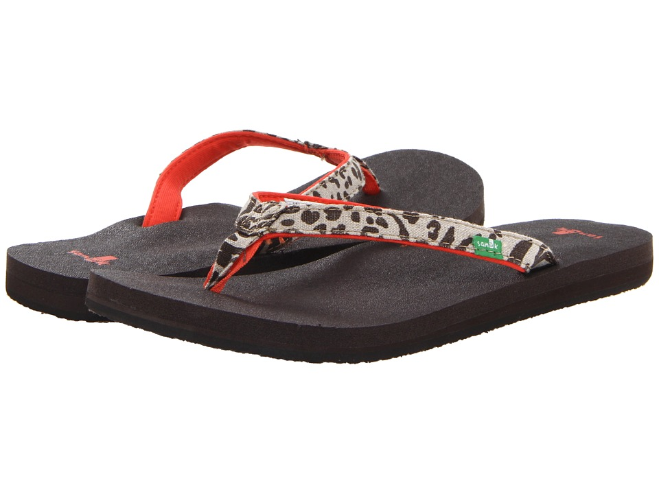 Sanuk - Yoga Joy Exotic (Cheetah) Women