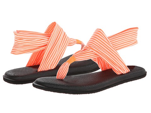 Sanuk - Yoga Sling 2 (Neon Orange) Women's Sandals