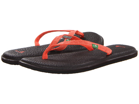 Sanuk - Yoga Spree 2 (Coral) Women's Sandals