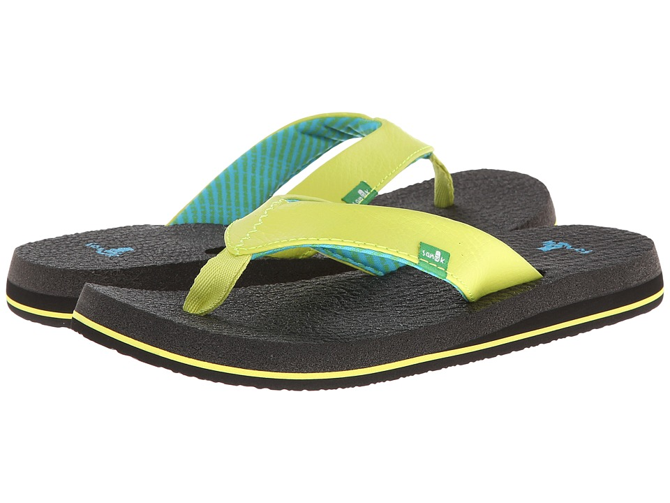 Sanuk - Yoga Mat (Lime) Women's Sandals