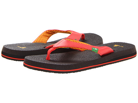 Sanuk - Yoga Mat (Coral) Women's Sandals