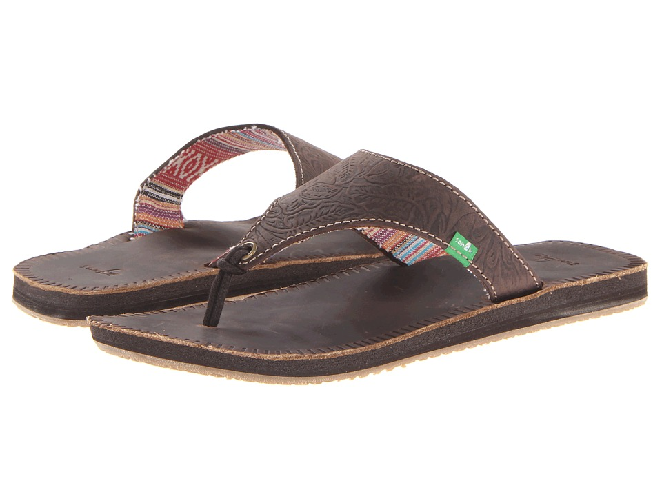 Sanuk - Mosey Up (Chocolate) Women's Sandals