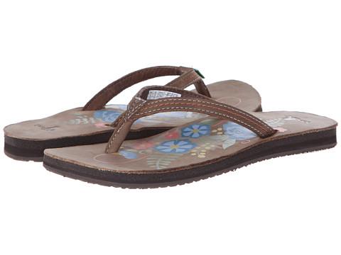 Sanuk - Flora The Explora (Brown) Women's Sandals