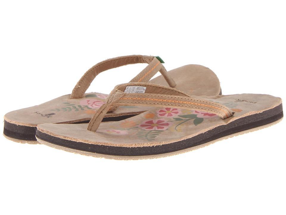 Sanuk - Flora The Explora (Tan) Women's Sandals