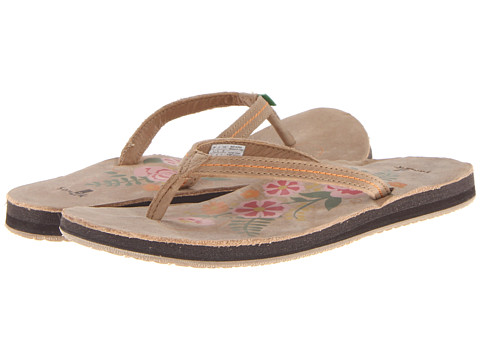 Sanuk - Flora The Explora (Tan) Women's Sandals