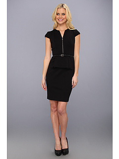 SALE! $161.99 - Save $106 on Elie Tahari Lanetta Dress (Black) Apparel - 39.56% OFF $268.00
