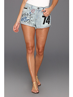 SALE! $16.37 - Save $43 on Fox Pit Pass Short (Bleach Wash) Apparel - 72.49% OFF $59.50