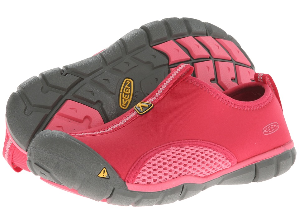 Keen Kids - Rockbrook CNX (Little Kid/Big Kid) (Rose Red/Camellia Rose) Girls Shoes