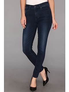 SALE! $99.99 - Save $99 on Paige Hoxton High Rise Ultra Skinny in Blue Crescent (Blue Crescent) Apparel - 49.75% OFF $199.00