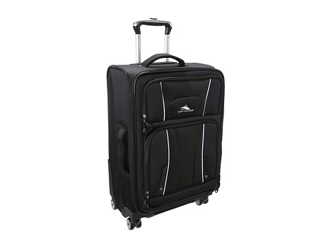 High Sierra - 25 Spinner Upright (Black) Pullman Luggage