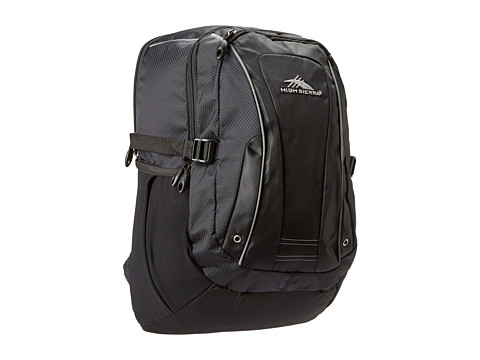 High Sierra - Endeavor Computer Backpack (Black) Computer Bags