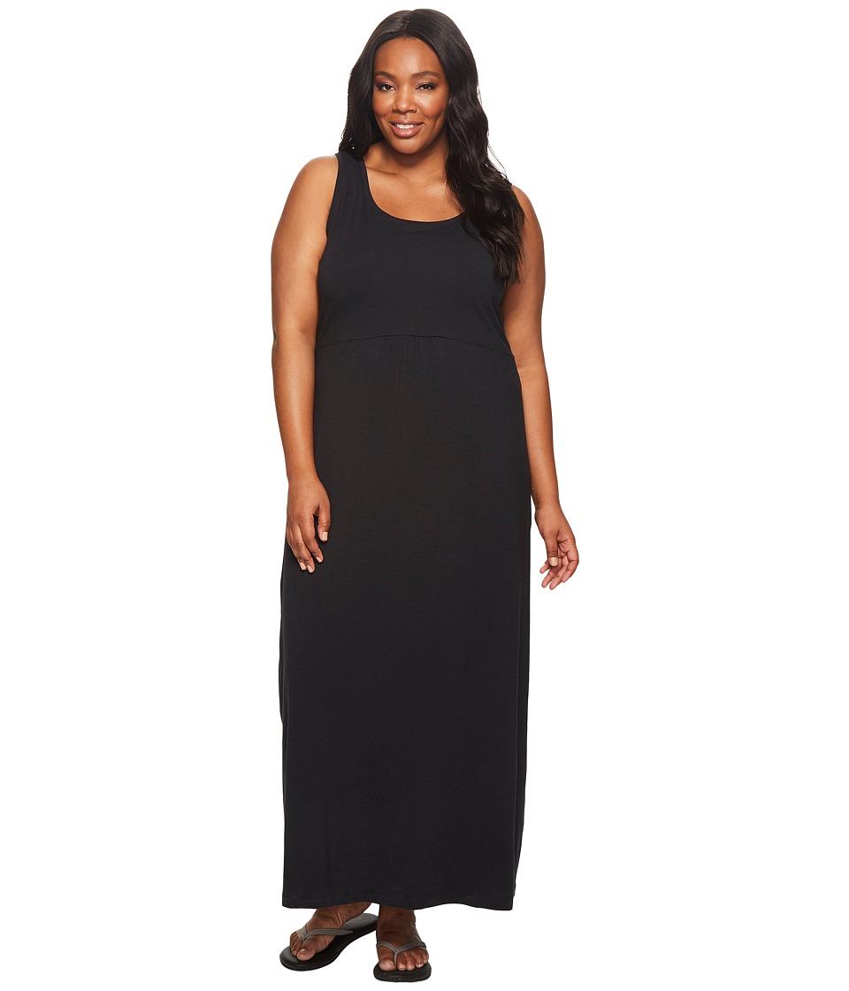 Columbia - Plus Size Reel Beautytm II Maxi Dress (Black) Women's Dress