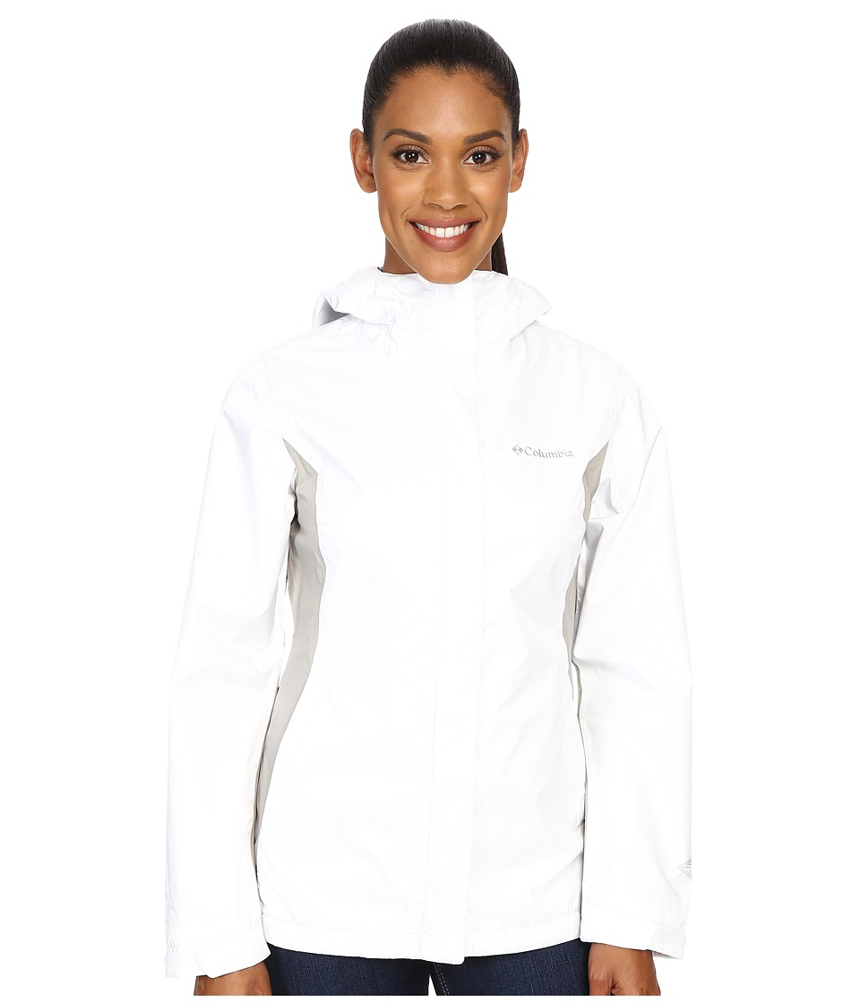 Columbia - Arcadia II Jacket (White/Flint Grey) Women's Coat