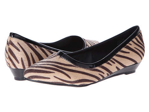Annie - Resa (Zebra/Black Patent) Women's Shoes