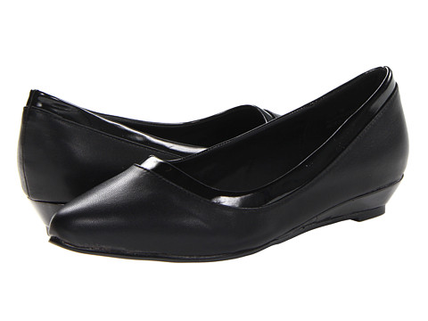 Annie - Resa (Black Smooth/Black Patent) Women