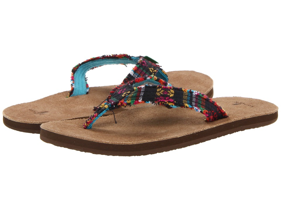 Sanuk - Fraidy Cat (Midnight Poncho) Women's Sandals