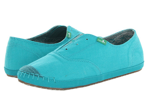 Sanuk - Runaround (Peacock) Women's Slip on Shoes