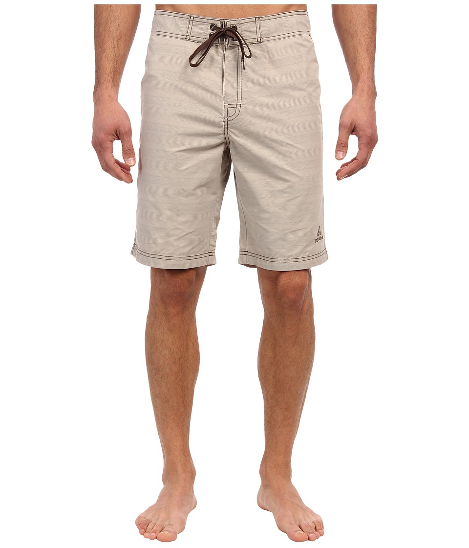 Prana - El Porto Boardshort (Pebble) Men's Swimwear