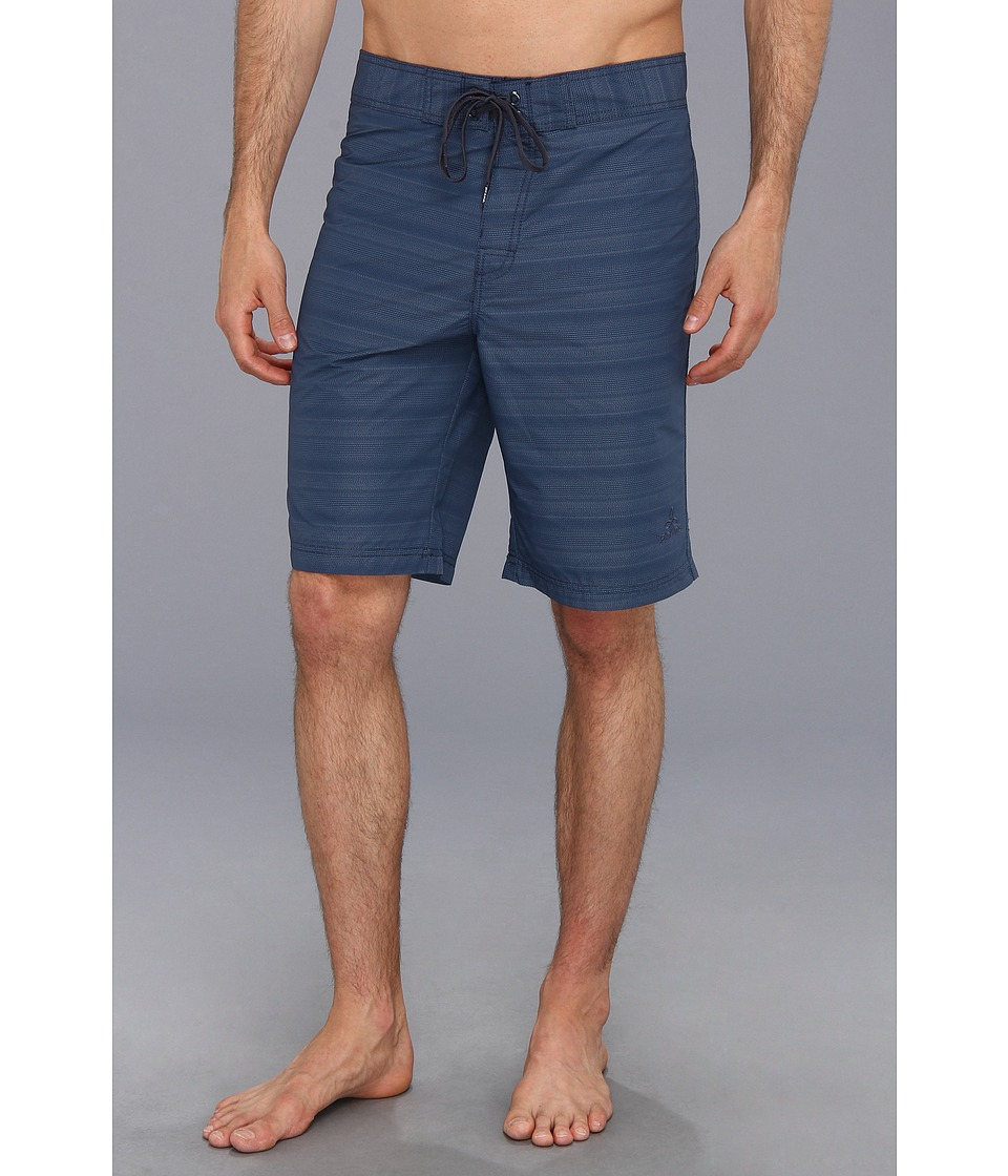 Prana - El Porto Boardshort (Dusk Blue) Men's Swimwear