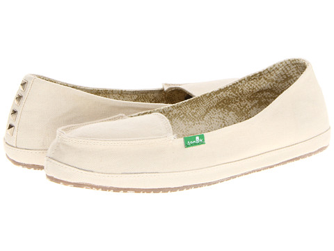 Sanuk - Tailspin (Natural) Women's Slip on Shoes