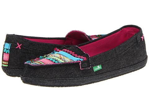 Sanuk - Ric Rac Row (Black/Multi) Women