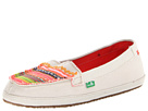 Sanuk Ric Rac Row (Cream/Multi)