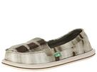 Sanuk Shorty Yoga (Olive) Women's Shoes