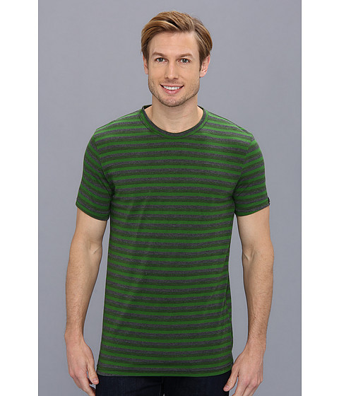Prana - Mateo Crew Tee (Deep Jade) Men's T Shirt