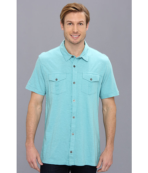 Prana - Hayes Button Down (Niagra) Men