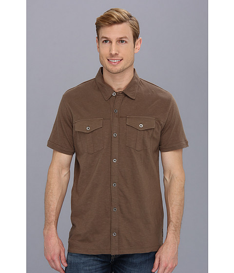 Prana - Hayes Button Down (Mud) Men