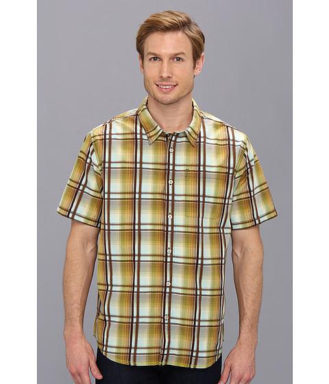 Prana - S/S Duke Shirt (Spinach) Men