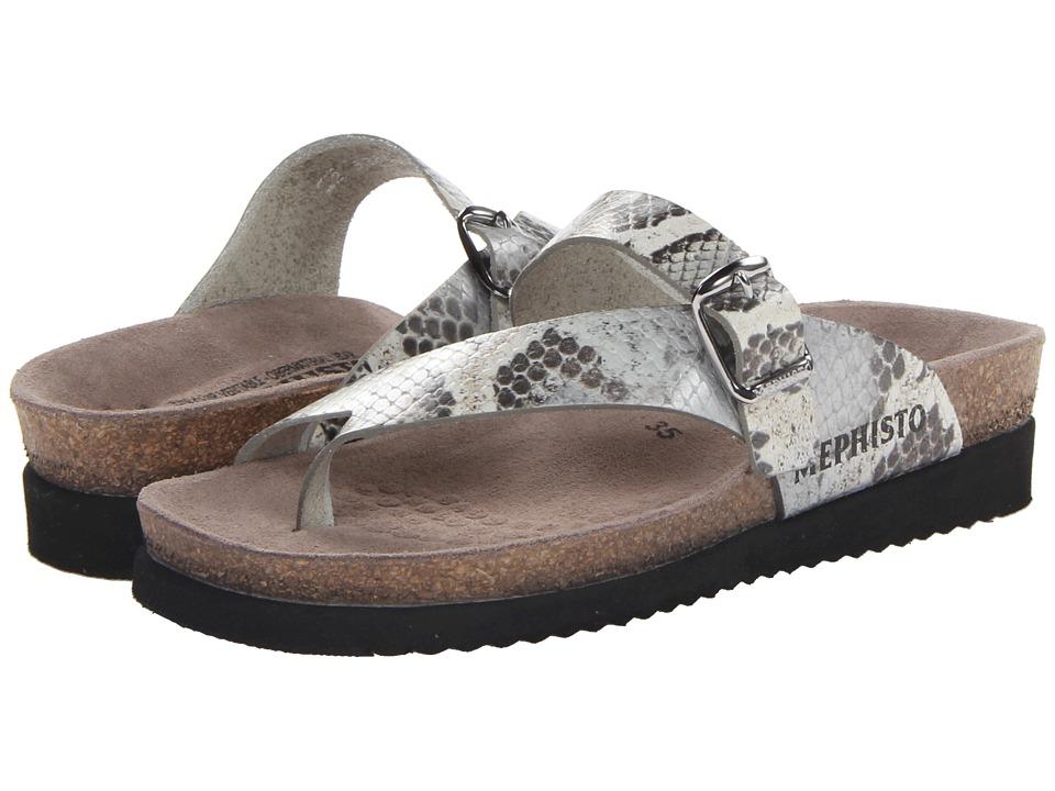 Mephisto - Helen (Silver Sand Boa) Women's Sandals