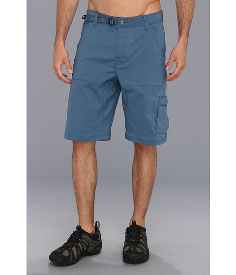 Prana - Stretch Zion Short (Blue Jean) Men's Shorts