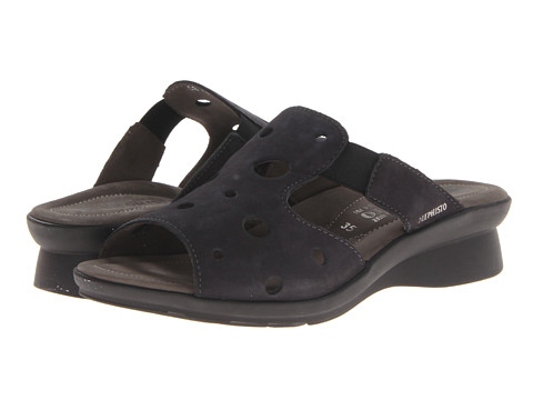 Mephisto - Petula (Graphite Bucksoft) Women's Sandals